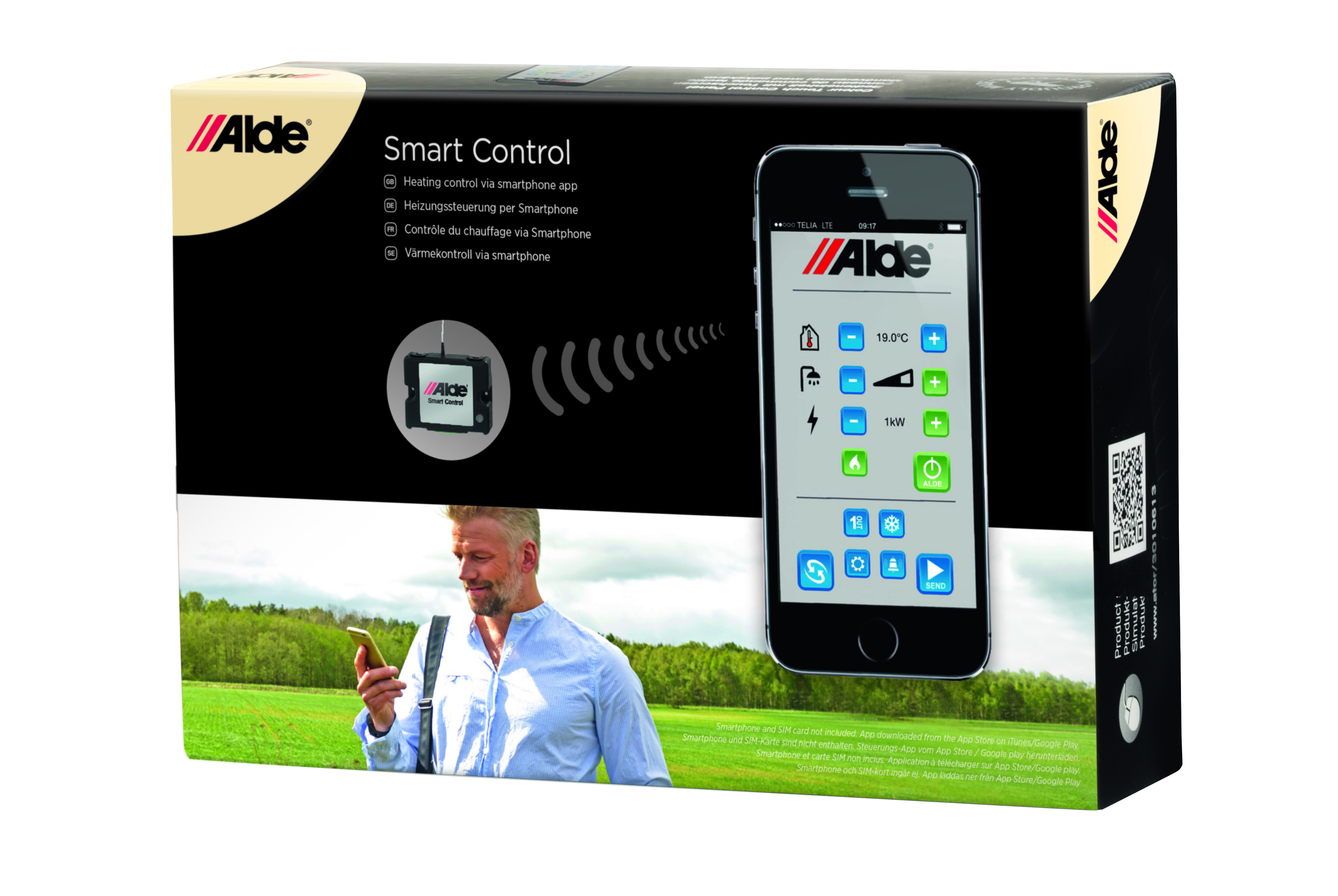 Alde Smart Control - JGs Husvagnar Kristinehamn